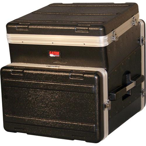 Gator Cases GRC-10X6 Slant Top Console Rack Case GRC-10X6
