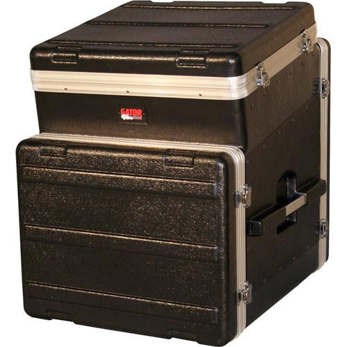 Gator Cases GRC-10X8 Slant Top Console Rack Case GRC-10X8