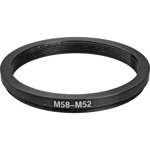 General Brand 58mm-52mm Step-Down Ring (Lens to Filter) 58-52