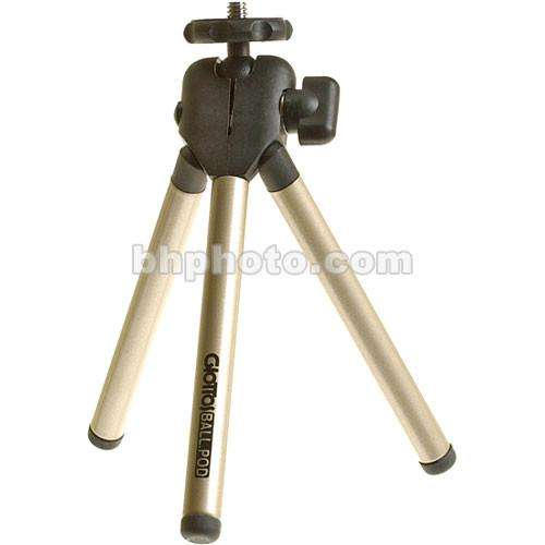 Giottos Compact Ball-Pod Tripod with Case (Titanium) QB2081