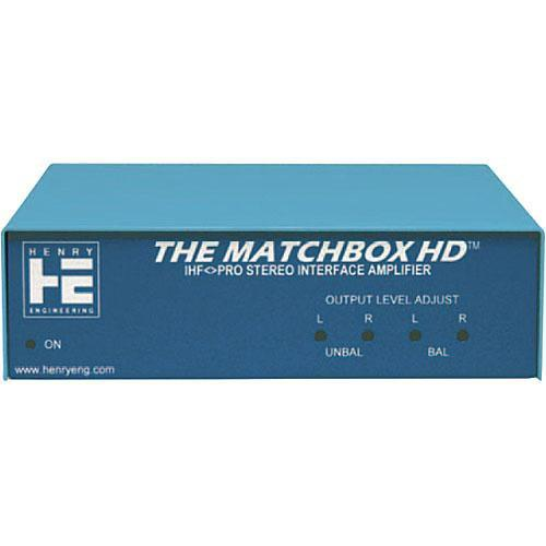 Henry Engineering THE MATCHBOX HD - IHF-Pro Stereo Interface MB