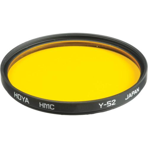 Hoya 55mm Yellow #Y52 (HMC) Multi-Coated Glass Filter A-55Y52