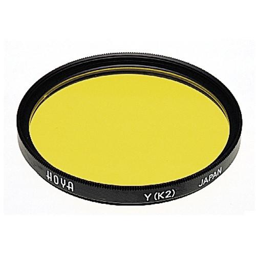 Hoya 62mm Yellow #K2 (HMC) Multi-Coated Glass Filter A-62K2-GB