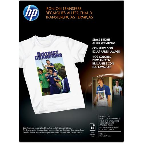 HP Iron-on Transfer Paper 8.5x11