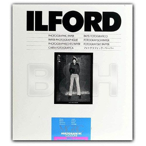 Ilford Multigrade Cooltone Resin Coated (RC) Black & 1951905