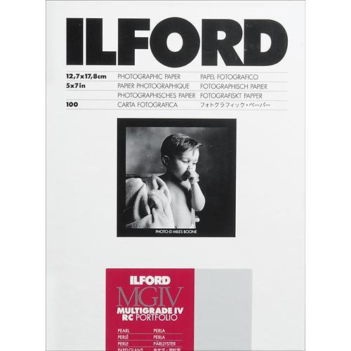 Ilford Multigrade IV RC Portfolio Black & White 1171301