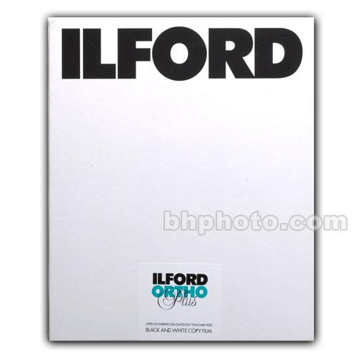 Ilford Ortho Plus 8x10