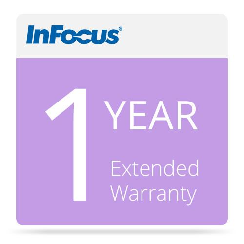 InFocus 1 Year Extended Projector Warranty EW-1YEAR