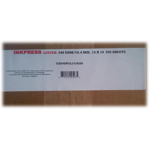 Inkpress Media Luster RC Inkjet Photo-Grade Paper 10 IPCL1319250
