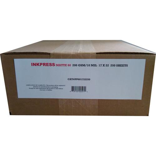 Inkpress Media Matte 60 Inkjet Printer Paper 10 mil PP601722250