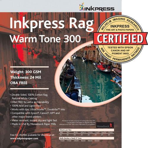 Inkpress Media Picture Rag Warm Tone 300 gsm PRWT300111725