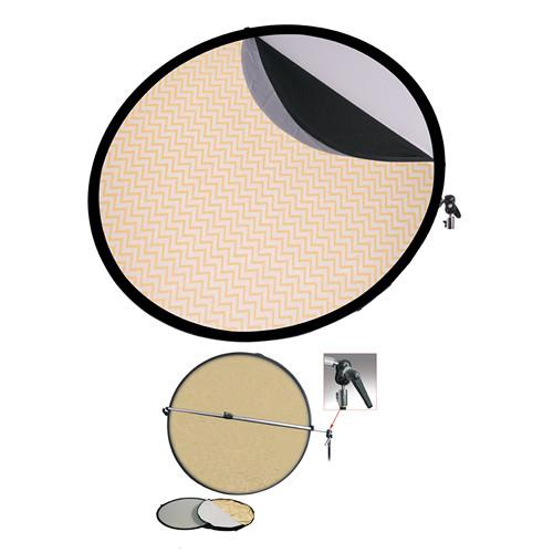 Interfit Collapsible 5-in-1 Reflector Kit with Bracket INT270