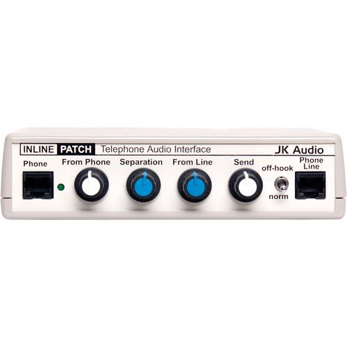JK Audio Inline Patch Telephone Audio Recorder Interface INLINE