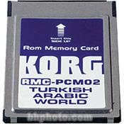 Korg RMC-PCM02 - Turkish/Arabic Styles ROM Card RMC-PCM02