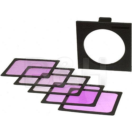LEE Filters Magenta Color Compensating Polyester Filter Set