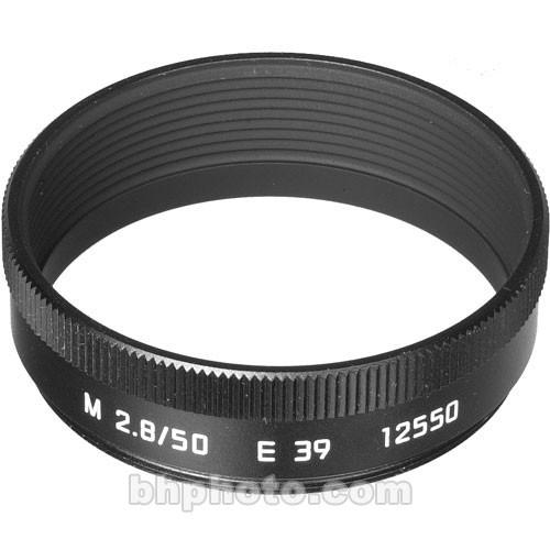 Leica  Lens Hood for 50mm f/2.8 M (Black) 12550