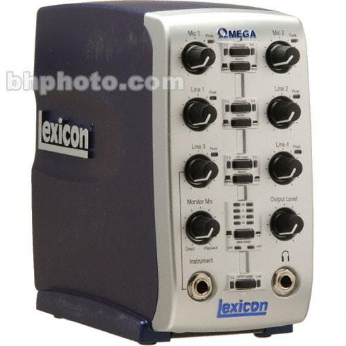 Lexicon  OMEGA 8x4 USB Audio Interface OMEGA