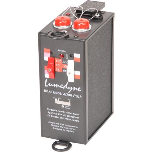 Lumedyne 200 Watt Second Next Generation Power Pack- Xtra P2NX