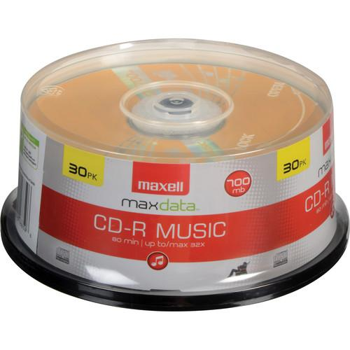 Maxell  CD-R 80 Music Gold (30) 625335