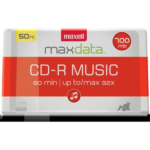 Maxell  CD-R 80 Music Gold (50) 625156