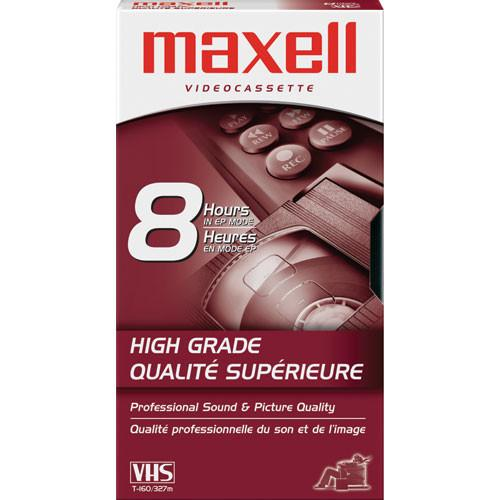 Maxell  HG-T160 VHS Video Cassette 224510