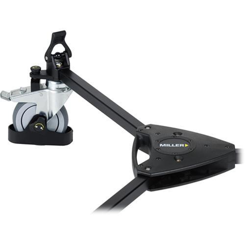 Miller 483 Studio Dolly with Cable Guards and Tracking Locks 483
