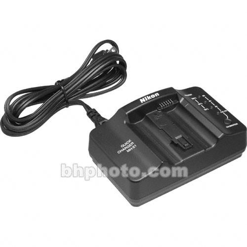 Nikon quick charger mh-21 with d3 box and manual.