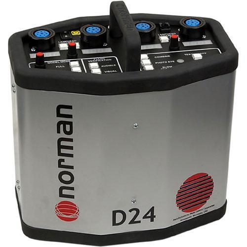 Norman  D24 Power Pack - 2400 Watt/Seconds 810602