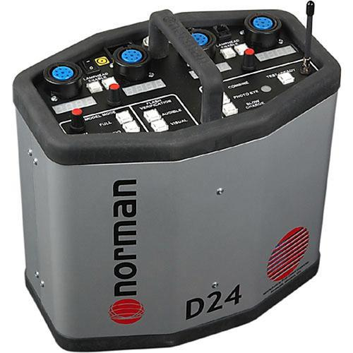Norman D24R Radio Slave Power Pack - 2400 Watt/Seconds 810818
