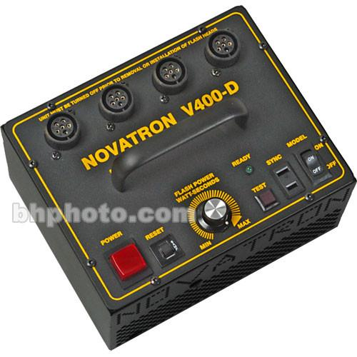 Novatron V400-D 400 W/S 3- Light Kit No Stands NPHGV4003