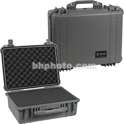 Pelican 1550 Case with Foam (Silver) 1550-000-180