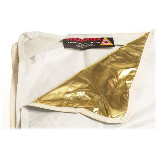 Photoflex Fabric for LitePanel Frame, White/Gold LP-7777WG
