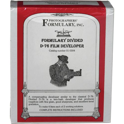 Photographers' Formulary Divided D-76 Developer 01-0304