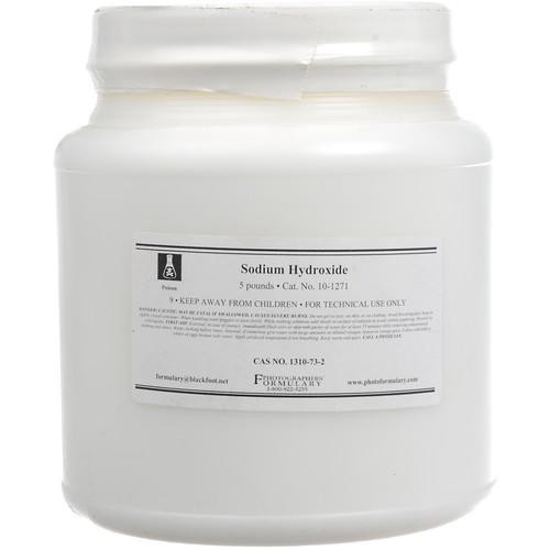 Photographers' Formulary Sodium Hydroxide (5 lb) 10-1271 5LB