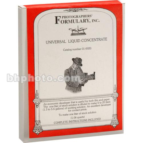 Photographers' Formulary Universal Developer for Black 01-0020