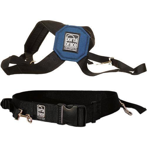 Porta Brace AH-2S Padded Audio Harness with Belt (Small) AH-2S
