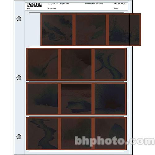 Print File Archival Storage Page for Negatives, 6x6cm - 020-0180
