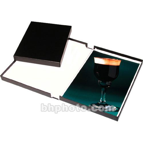 Print File Black Clamshell Archival Portfolio Box - 210-0151