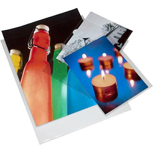 Print File Polypropylene Presentation Pocket - 4 x 067-0460