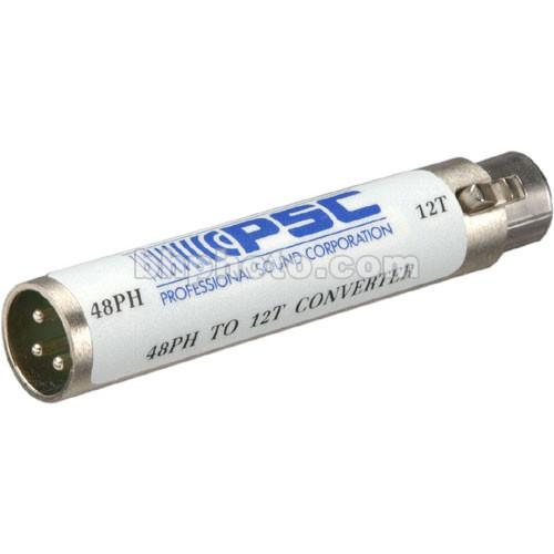 PSC A4812 48V to 12T In-Line Barrel Adapter FPSC0010A