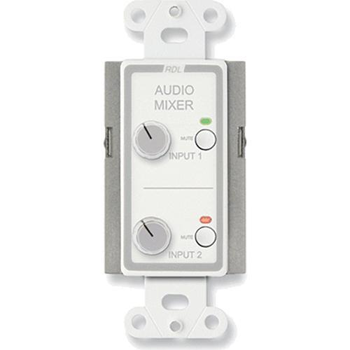 RDL D-RC2M Audio Mixing Remote Control with Muting (White)