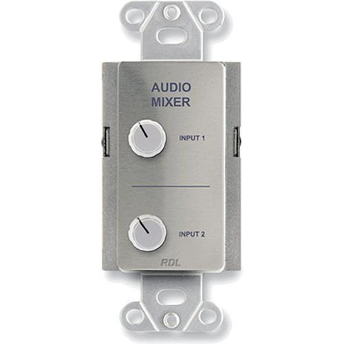 RDL DS-RC2 Audio Mixing Remote Control (Stainless Steel) DS-RC2