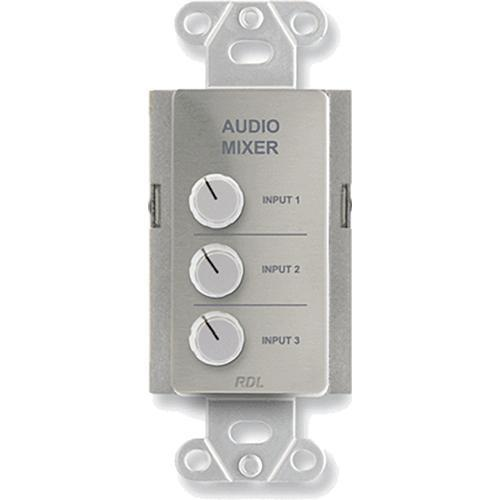RDL DS-RC3 Audio Mixing Remote Control (Stainless Steel) DS-RC3