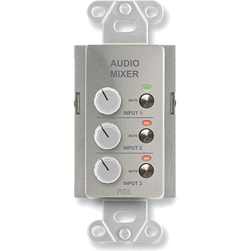 RDL DS-RC3M Audio Mixing Remote Control with Muting DS-RC3M