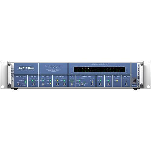 RME M-16 DA - 16-Channel High-End MADI/ADAT to Analog M-16 DA