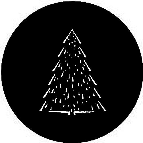 Rosco Steel Gobo #7363 - Christmas Tree C 250736330860
