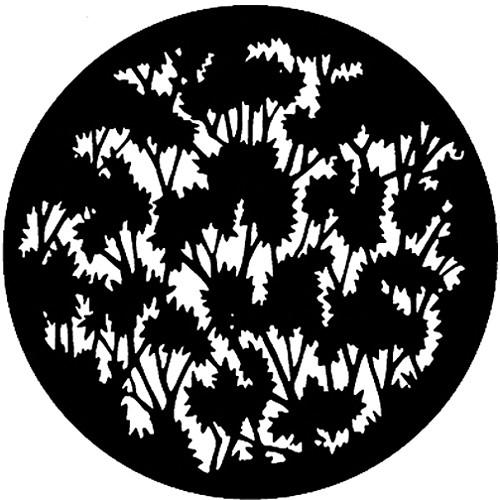 Rosco Steel Gobo #7779 - Foliage (Medium) - Size E 250777790375