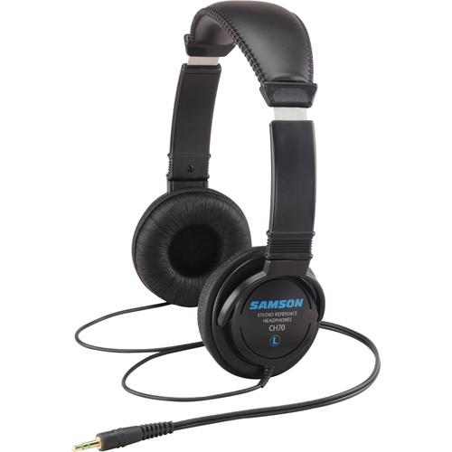 Samson CH70 - Lightweight Closed Back Studio Headphones SACH70