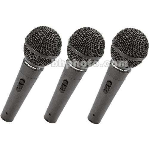 Samson R11 Dynamic Vocal Microphone (3 Pack) SAR11
