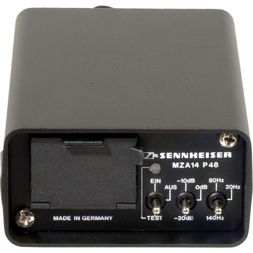 Sennheiser MZA14P48U Battery Operated Phantom Power MZA14-P48U